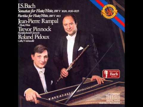 BWV 1033 Flute Sonata in C II. Allegro.