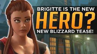 Overwatch: Brigitte is HERO 27!? - NEW Blizzard Hints!