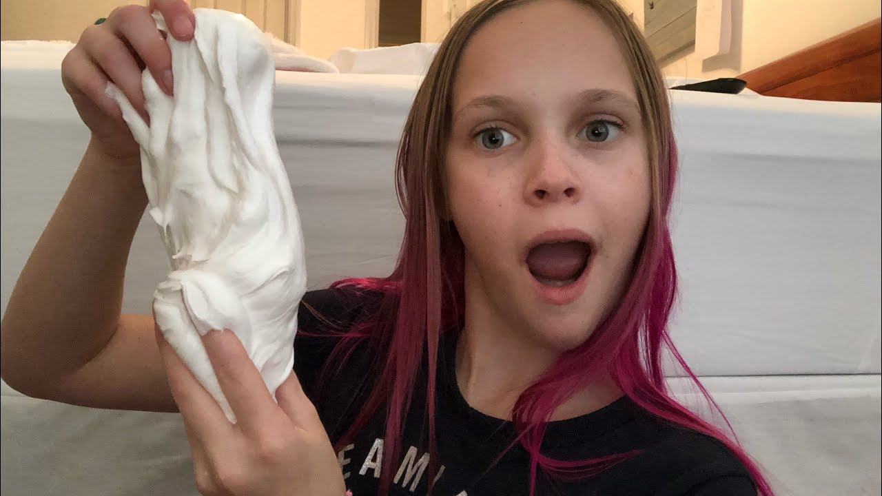 how to make butter slime! 3 ingredients only! #slime #butterslime