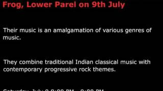 Paradigm Shift (Acoustic) at The Blue Frog, Lower Parel on 9th July