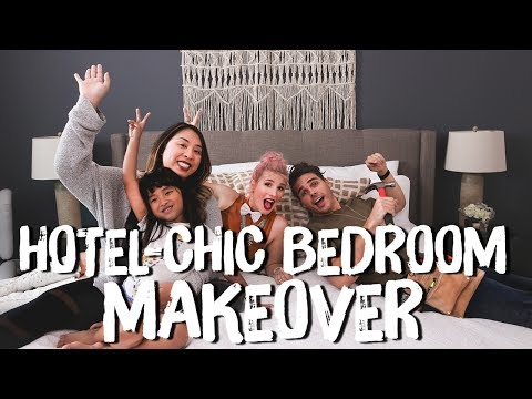 Hotel Chic Neutral Bedroom Makeover!  Breaking Beige  Mr