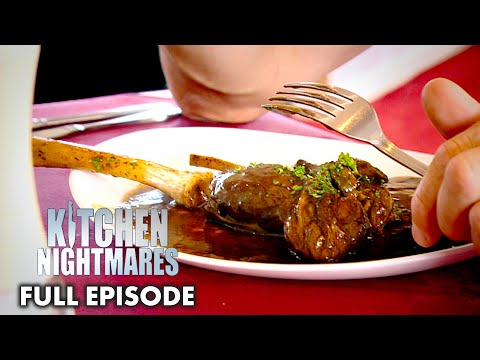 Gordon Ramsay Served Un-Refrigerated, Vacuumed Sealed Lamb Shanks | Kitchen Nightmares