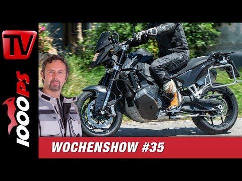 KTM 890 SM T Erlkönig, Indian vs. Triumph und vieles mehr! 1000PS Wochenshow #35