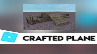 Roblox Crafted Plane| Speed Build