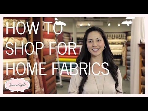 How To Shop A Fabric Store For Home Decor (Fabricana)