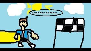 Roblox:Vou Virar o Flash No Roblox!!! (Speed Simuleitor X)