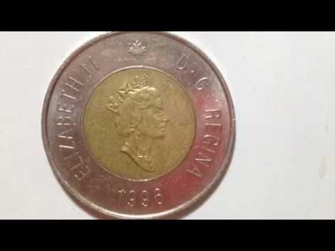 2 Dollars- Elizabeth II- Canada Coin 1996