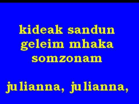 goan karaoke song juliana.mpg