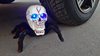 Crushing Crunchy & Soft Things by Car! HALLOWEEN Edition