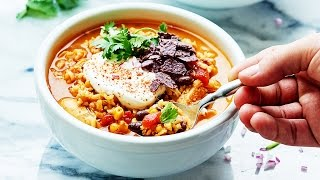 One Pot Mexican Chicken And Rice Soup - Show Me The Yummy - Episode 29