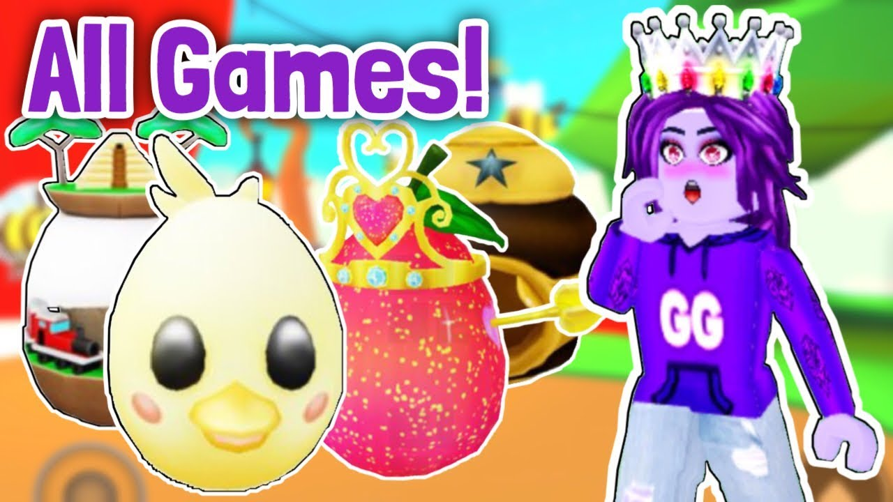 All 50 Games In Roblox Egg Hunt 2020 All Eggs Roblox Leaks Youtube