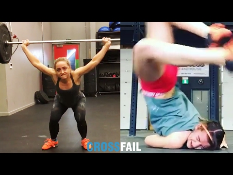 Top 40 CrossFit Fails / Best Compilation 2017
