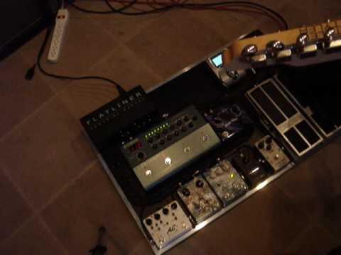L.A. Sound Design Pedalboard Demo II-Allan Holdsworth Type Tones.
