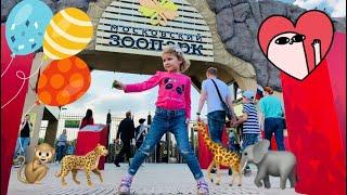 Зоопарк в Москве для детей - Московский зоопарк 2019 видео животные, Викуся в зоопарке