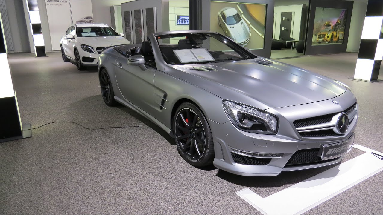 2015 mercedes benz sl 63 amg v8 biturbo youtube for Mercedes benz v8 amg