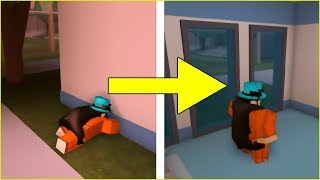 ROBLOX JAILBREAK HOW TO WALL GLITCH 2018!