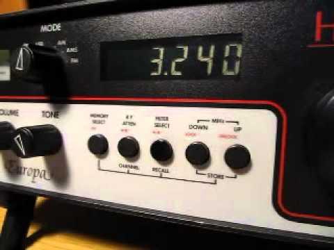 Trans World Radio Swaziland 3240 kHz received in Germany