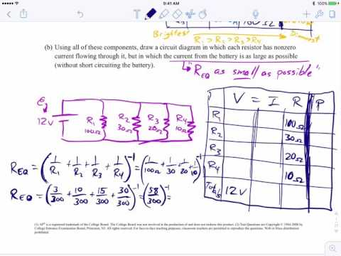DC Circuits (2 of 4) Resistors in PARALLEL - AP Physics 1 Free ...