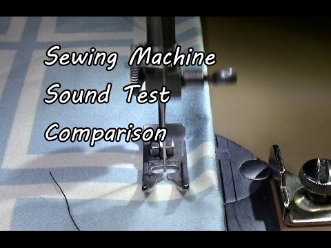 Sewing Machine Sound Effect Overlocker Sound With Video YouTube Enchanting Sewing Machine Sound