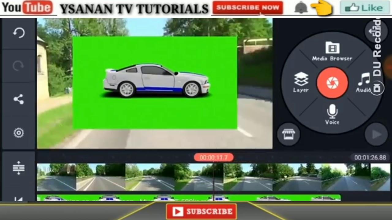 How to edit videos using kinemaster Chroma key effect ...
