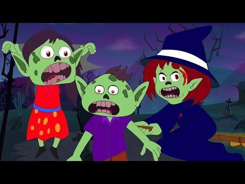 гоблин палец семьи | Страшные дети рифму | Хэллоуин видео | Goblin Finger Family | Kids Scary Song