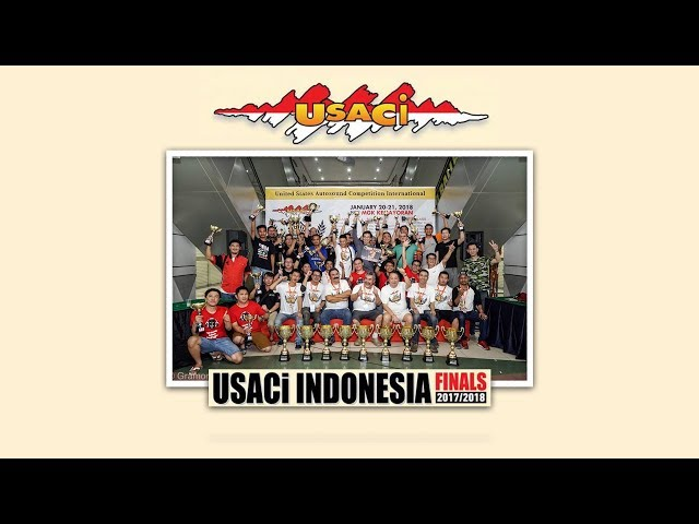 Kontes Audio USACi INDONESIA FINALS 2017-2018
