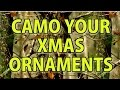 Camo Your Christmas Ornaments - Dip Kit Store