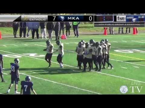 MKA vs Hudson Catholic - Football - Non-Public Group 2 Semifinal
