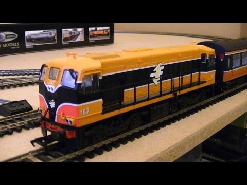 Murphy Models (Bachmann) MM0187 GM 181 Class Diesel Locomotive 187 IE Orange (OO Gauge) Review HD