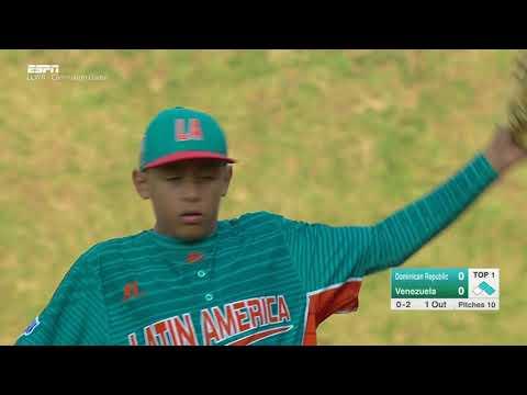 LLWS17 - Game 19 - Santiago Dominican Republic vs  Maracaibo Venezuela - #ilovewilliamsport
