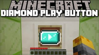 HOW TO GET THE DIAMOND PLAY BUTTON IN MINECRAFT !! Minecraft Mods