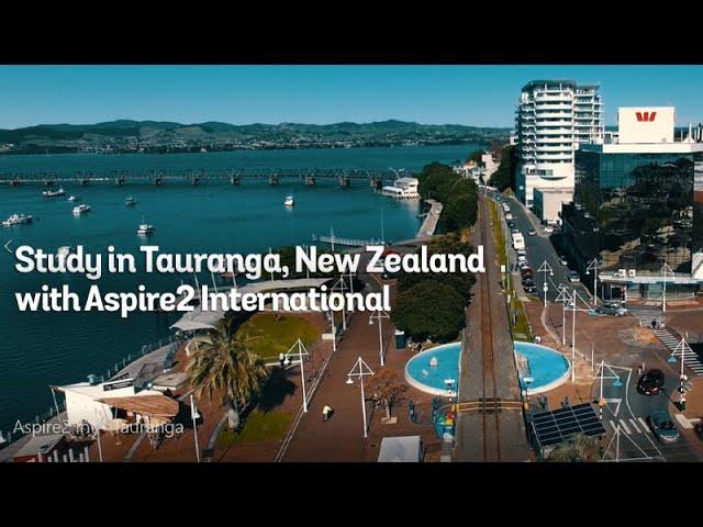 Study in Tauranga New Zealand with Aspire2 International
