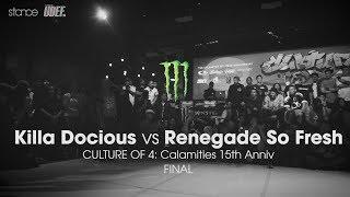 Video Killa Docious vs Renegade So Fresh ◄ final.stance ► Culture of 4 ◄ udeftour.org 2017 download MP3, 3GP, MP4, WEBM, AVI, FLV September 2018