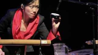Unsuk Chin: Allegro ma non troppo for solo percussion and tape, performed by Ying-Hsueh Chen