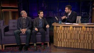 Роберт Земекис/Robert Zemeckis, Джозеф Гордон-Левитт/Joseph Gordon-Levitt. Вечерний Ургант - (524)