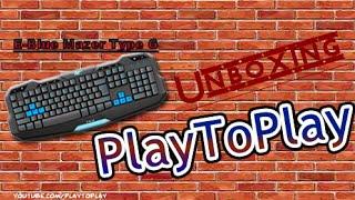 Unboxing / Review E-Blue Mazer Type G pt-br