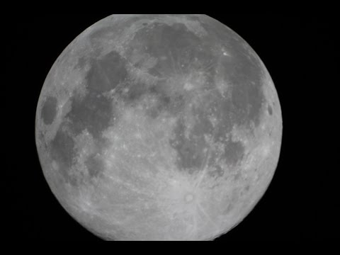 July 12th: First Of 3  SUPERMOONS  In 2014.  Viewed Auckland NZ Meade Telescope