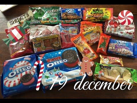 Annas julekalender - 19 december - Amerikansk jule taste test