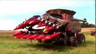 Top 10 máy móc thu hoạch nông sản tuyệt vời nhất thế giới