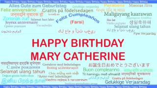 MaryCatherine   Languages Idiomas - Happy Birthday