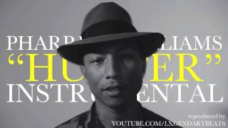 Pharrell Williams - Hunter (INSTRUMENTAL) w/ DOWNLOAD LINK