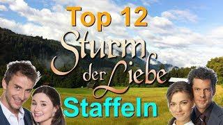 Top 12 Staffeln - Sturm der Liebe - Rangliste (Fan-Umfrage 2017) - 1000 Abo-Special