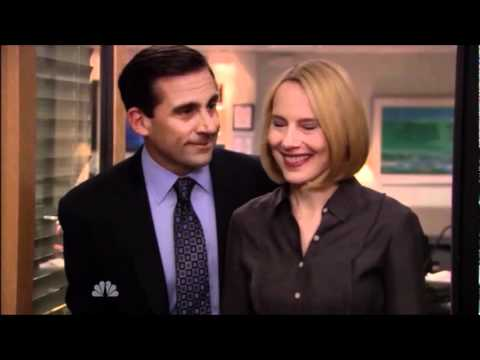 The Office Micheal Scott Proposes To Holly Flax Youtube