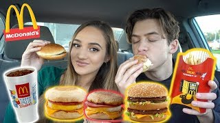mcdonalds mukbang eating show