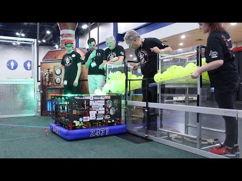 Team 2471  Worlds 2017