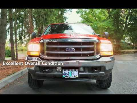 2004 Ford F-250 Super Duty XLT 4dr POWERSTROKE 4X4 New Tires LB for sale in Milwaukie, OR