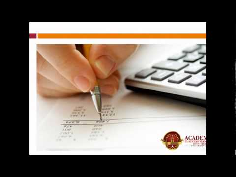 Accounting and Financial Management in ABMS SWITZERLAND UNIVERSITY