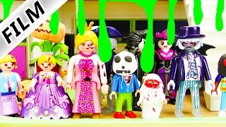 Playmobil Film deutsch   HALLOWEEN Party bei Familie Vogel mit coolen Verkleidungen   Kinderserie