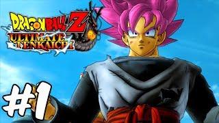 Dragon Ball Z: Ultimate Tenkaichi Hero Mode Walkthrough PART 1 - New Saiyan Hero (XBOX 360 1080p)