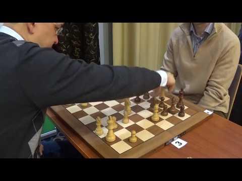 GM Darmen Sadvakasov - IM Artem Smirnov, Sicilian Rossolimo, Blitz chess
